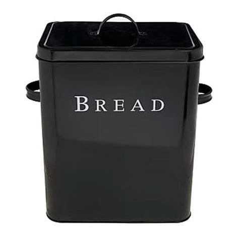 Kitchen Designs On A Budget Black Bread Bin From Debenhams Bread Bins Kitchen