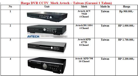 Harga Dvr Hikvision 16 Channel avtech terpercaya distributor cctv avtech
