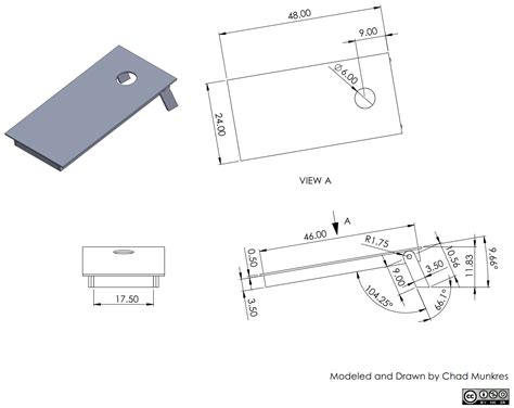 3 hole dimensions the chad experience nesting 3d model and drawing