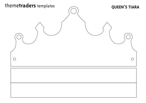 printable crown make your own party decorations tiara party ideas for