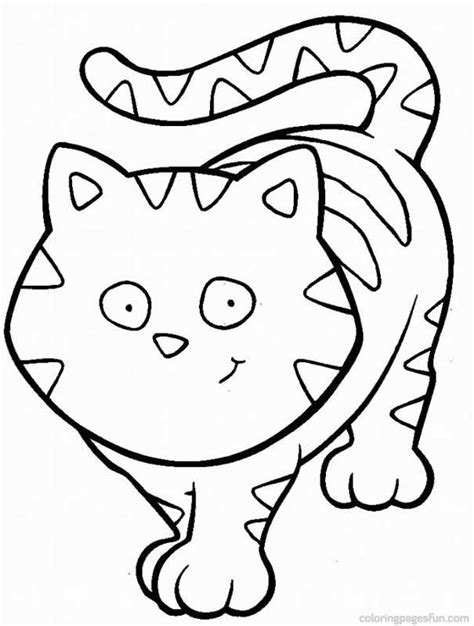 two cats coloring pages kitten color page az coloring pages