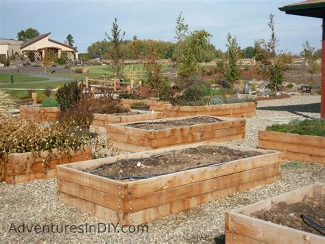 Raised Garden Bed Design Ideas Raised Bed Gardening Ideas Adventures In Diy