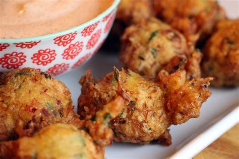 crab hush puppies new year s heavenly puffs crab hush puppies with remoulade sauce bay area bites