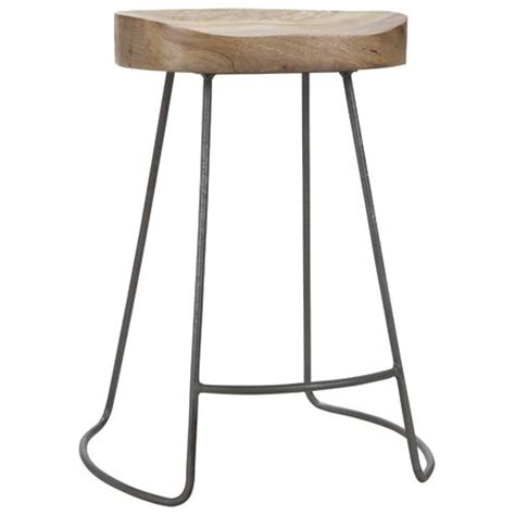 tractor counter stool option 2 for bar stool tractor stool 60cm light wood