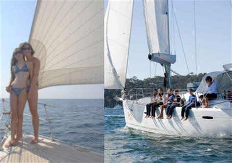 catamaran vs motor yacht sail vs power bareboat yacht catamaran charter pittwater
