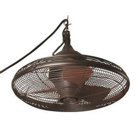 allen and roth outdoor ceiling fan shop allen roth valdosta 20 in oil rubbed bronze downrod