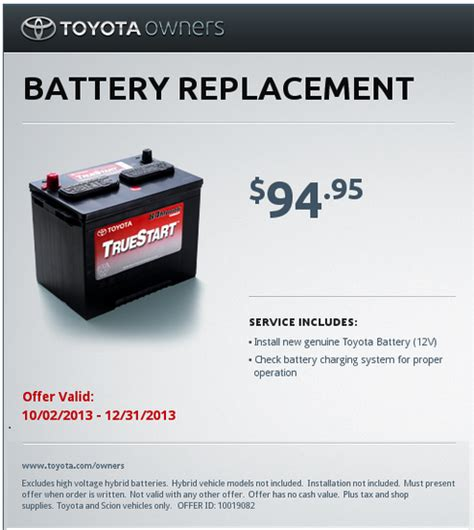 Toyota True Start Battery Toyota Battery Ripoff Special The Small Print