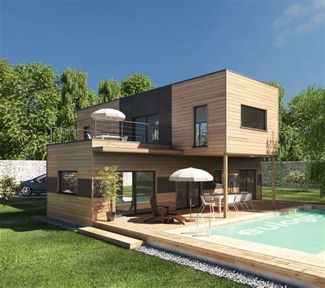 home design 3d 2 etage maison bois moderne les 3 233 l 233 ments pour r 233 ussir sa conception