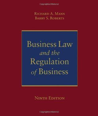 business and the regulation of business by richard a