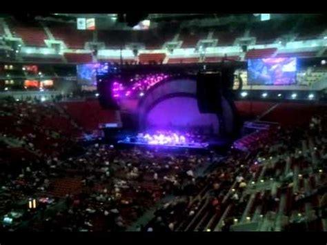 kfc yum center opening concert eagles youtube