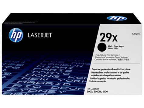 Cartridge Untuk Printer Hp 1515 jual toner printer hp 29x black c4129x harga spesifikasi