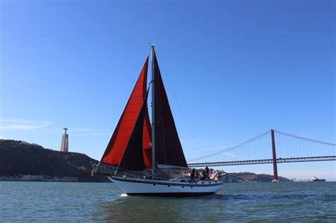 boat tour lisbon private tour on a vintage sailboat in lisbon seabookings