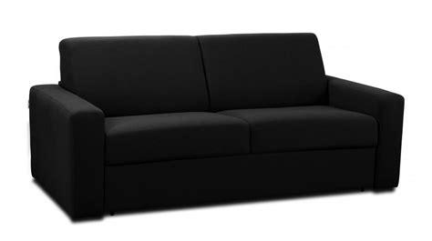 canapé tissu noir canap 233 convertible tissu coton 3 places pas cher qualit 233