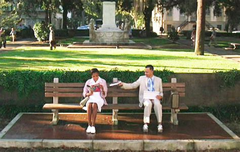 forrest gump park bench scene life love and marathons august 2012