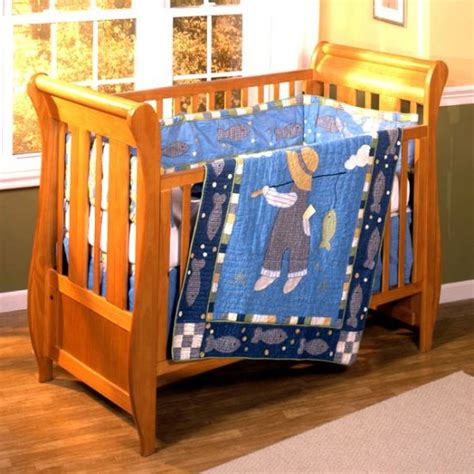 Fishing Crib Bedding Sets Zz Baby Fishing Baby Crib Set