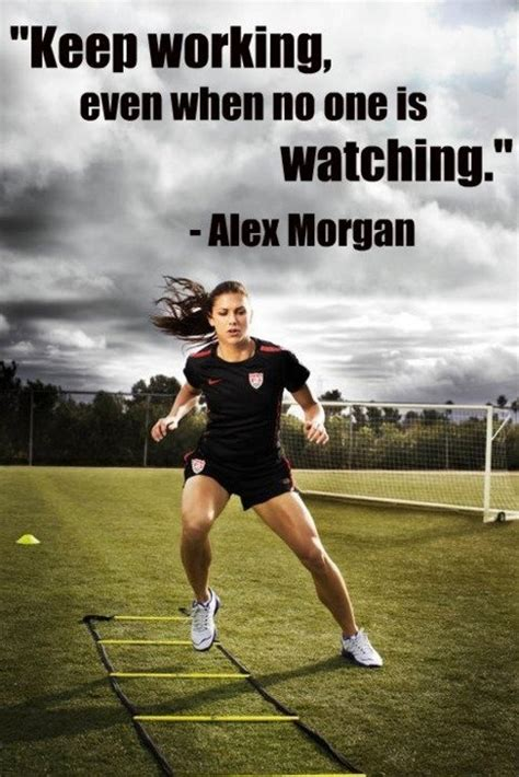 printable soccer quotes alex morgan favorite player soccer quotes pinterest