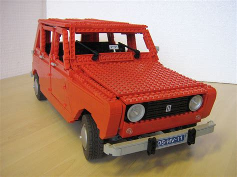 renault lego archive renault 4 technic brick constructions