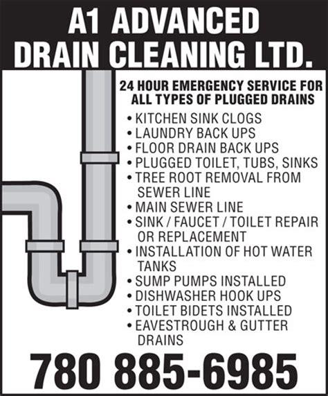 Emergency Floor Drain by A1 Advanced Drain Cleaning Ltd 4504 27 Ave Nw Edmonton Ab