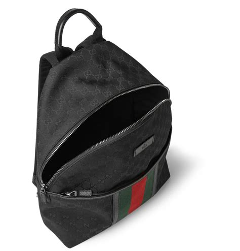 Black Backpack gucci backpack black