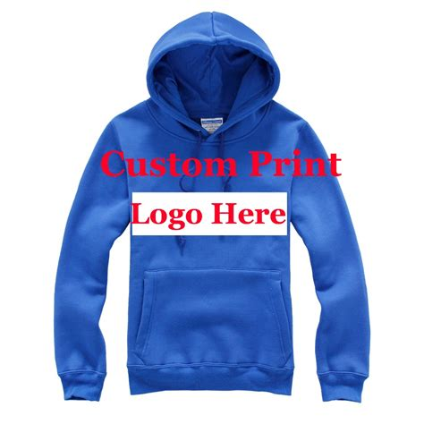Handmade Hoodies - aliexpress buy printed logo on the blank hoodies