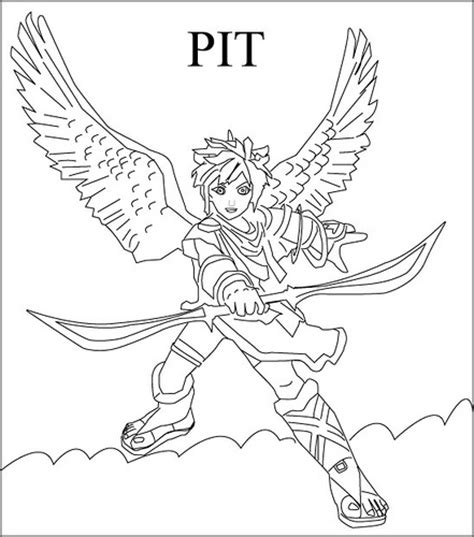 Smash Brawl Colouring Pages Page 2 Smash Bros Brawl Coloring Pages