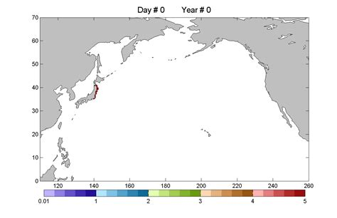 Studies On The 2011 The Pacific Coast Of Tohoku Earthquake where will the debris from japan s tsunami drift in the