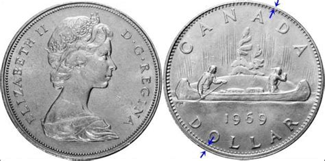 composition 2 dollar canadien coins and canada 1 dollar 1969 canadian coins price