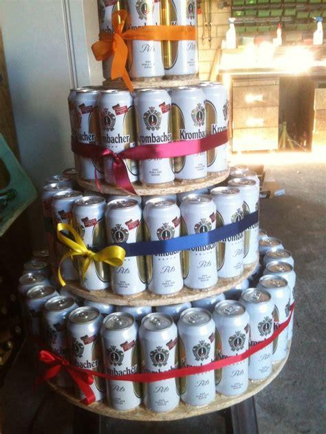 craft beer cake bierdosen torte 5 paletten beer can cake 5 pallets