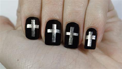 imagenes de uñas acrilicas para semana santa u 241 as con cruces o cross nails especial semana santa youtube