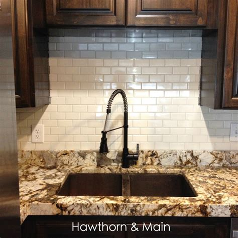 Subway Tile Kitchen Backsplashes diy kitchen backsplash hawthorne and main
