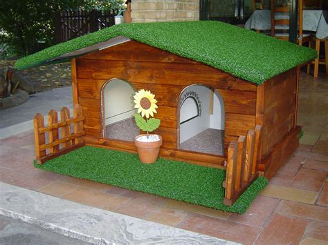 come arredare casa di cagna arredare e decorare le cucce per cani da esterno