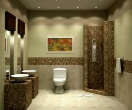 decorative bathroom ideas decorative basement bathroom design using mosaic tiles