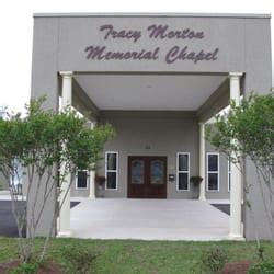 tracy morton memorial chapel funeral services