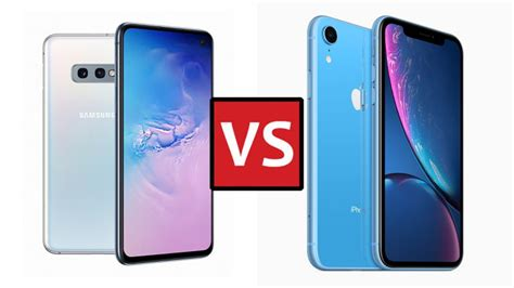 Iphone Xr Vs Samsung Galaxy S10 Plus by Samsung Galaxy S10e Vs Iphone Xr The Battle Of The More Affordable Flagships T3