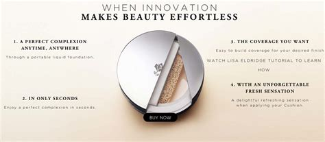 Air Cushion Foundation Dewy Finish lancome kiko released a cushion foundation