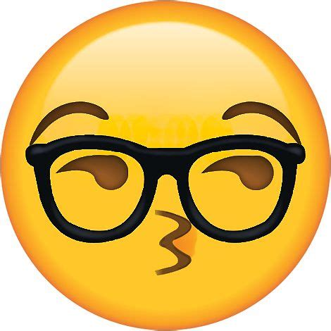 emoji nerd quot sexy glasses nerd secret emoji funny internet meme