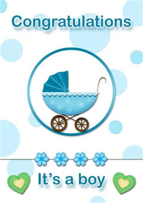 Baby Boy Card Template by 13 Best Images About Free Printable Baby Cards On