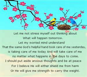 Comforting Words For Anxiety Prayer For Strength Quotes Quotesgram