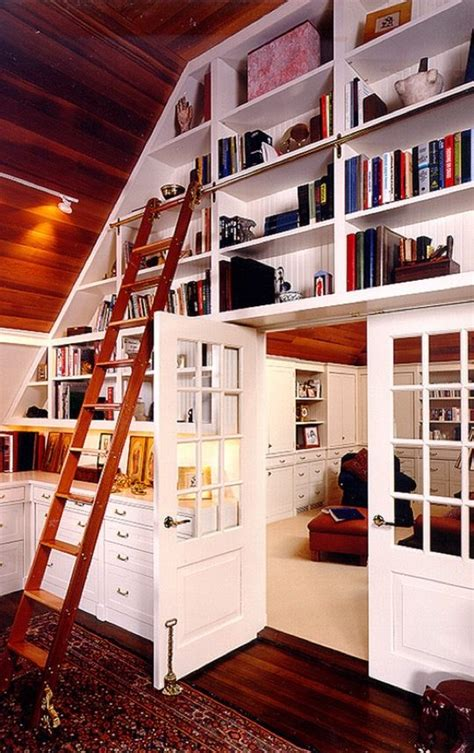 ideas  designs   home library