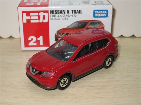 Tomica No 21 Nissan X Trail Box New tomy tomica 21 nissan x trail alloy car car model in