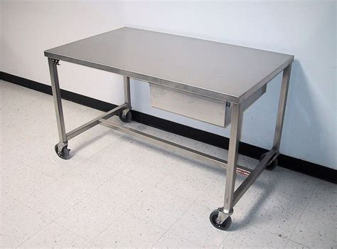 stainless steel work table with wheels stainless steel work tables on wheels tedx designs the