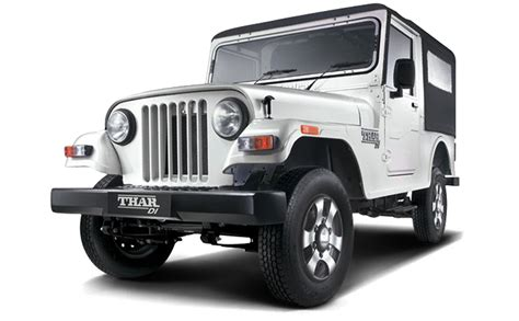 jeep car mahindra price mahindra thar price in jammu get on road price of