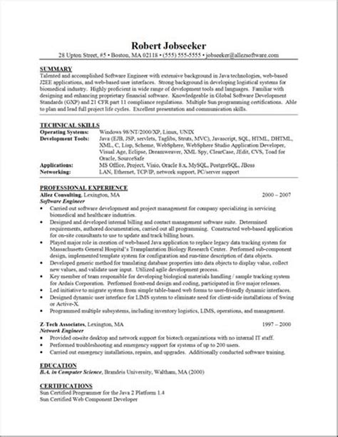 exles of a functional resume functional resume tips