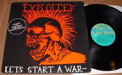 the to start win the inner war let your shine books let s start a war lp 1984 konnexion records