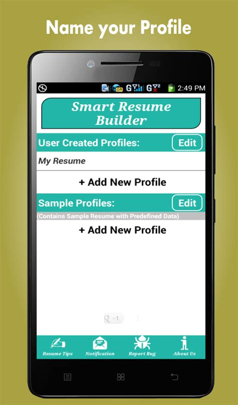 resume templates for android phones resume builder pro 5 minutes cv maker templates
