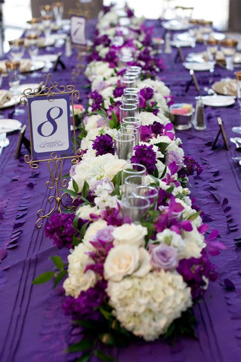 purple and white centerpieces for weddings purple and green wedding centerpieces fresh and