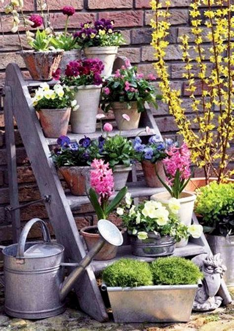 garden decorating ideas on a budget beautiful and easy diy vintage garden decor ideas on a