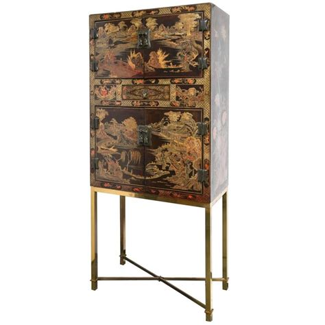 chinese black lacquer cabinet chinese black lacquer cabinet at 1stdibs