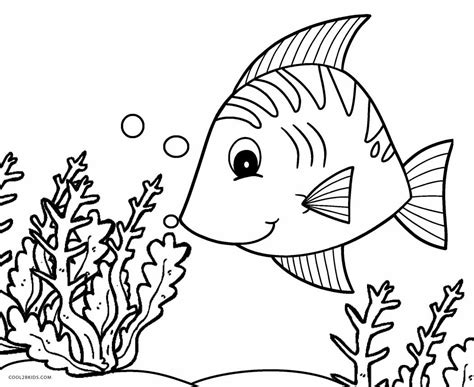 coloring page free printable fish coloring pages for cool2bkids