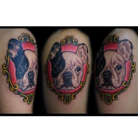 french bulldog tattoo bulldog my